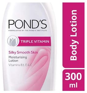 Ponds Body Lotion - Moisturizing  Triple Vitamin 300 ml