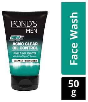 Ponds Face Wash - Men  Acno Clear  Oil Control 50 gm