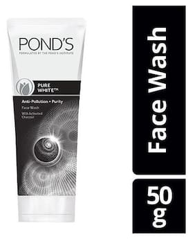 Ponds Pure White Anti Pollution Purity Face Wash 50g