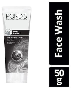 Ponds Pure White Anti Pollution Purity Face Wash 50gm