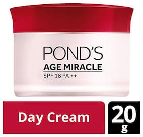 Ponds Wrinkle Corrector Day Cream - Age Miracle  SPF 18  PA++ 20 gm