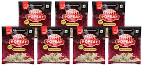PopEat Butter Delight Instant Popcorn (Pack of 7 X 60 Grms)
