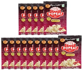 PopEat Butter Delight Instant Popcorn (Pack of 15 X 60 Grms)