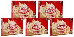 PopEat Butter Pepper Microwave Popcorn (Pack of 5 X 60 Grms)