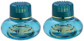 Poppy FREESIA Liquid Car Air Freshener (150 ml) (Pack of 2)