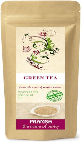 Pramsh Premium Quality Green Tea 100g For Weight/Fat Loss.