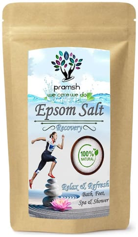 Pramsh Premium Quality Epsom Bath Salt For Relaxation And Pain Relief 200gm