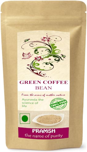 Pramsh Premium Quality Green Coffee Beans 300g For Weight/Fat Loss.