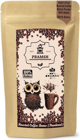 Pramsh Traders Powdered Roasted Coffee Beans (Grounded) Aaa Grade Arabica Beans 500 g