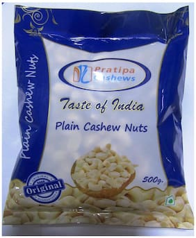 Pratipa Cashews Plain W320 500gm