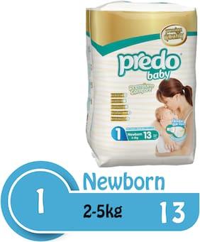 Predo Baby NEW BORN Standard 2-5kg  Size 1  13 pcs