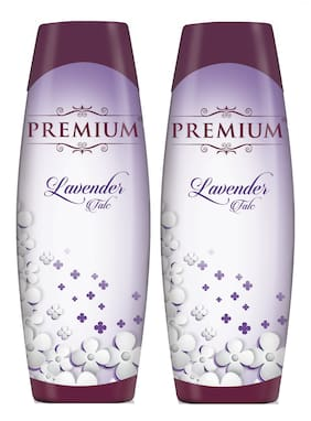 Premium Lavender Talc - 300g (Buy One Get One Free )