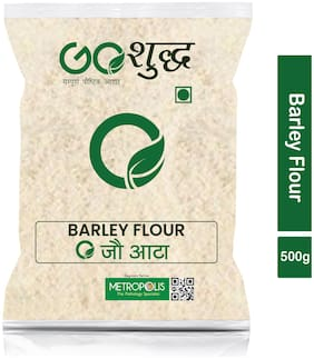 Goshudh Premium Quality Jau Atta Barley Flour 500g (Pack Of 1)