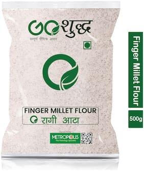 Goshudh Premium Quality Ragi Atta Finger Millet Flour 500g (Pack Of 1)