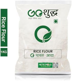 Goshudh Premium Quality Chaval Atta Rice Flour 1Kg (Pack Of 1)