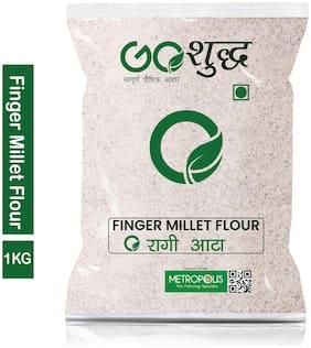 Goshudh Premium Quality Ragi Atta Finger Millet Flour 1Kg (Pack Of 1)