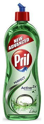 Pril Dishwash Liquid - Lime 750 ml