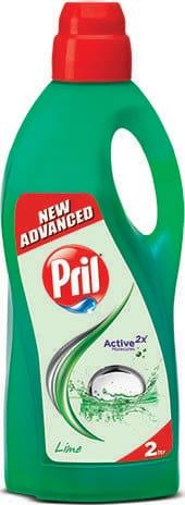Pril Dishwash Liquid - Lime 2 L
