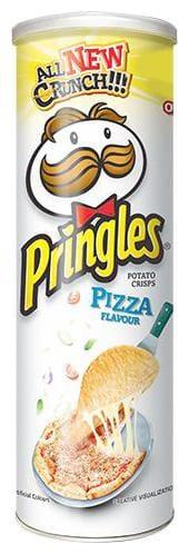 Pringles Potato Crisps Pizza flavour 110 gm