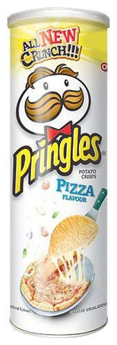 Pringles Potato Crisps Pizza flavour 110 g