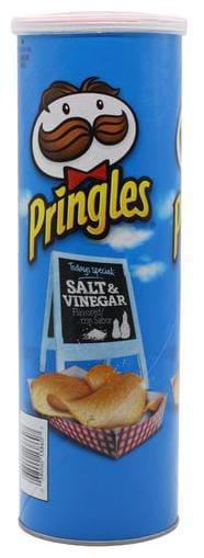 Pringles Potato Chips - Salt & Vineger 158 g