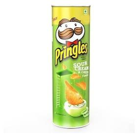 Pringles Sour Cream & Onion chips 110 g
