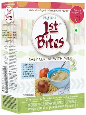 Pristine 1st Bites Wheat & Apple Powder (8 Months - 24 Months) Stage - 2, 300 g