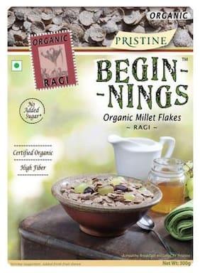 PRISTINE Beginnings - Organic Ragi Flakes 300 gm