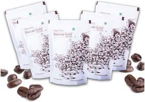 PRISTINE Deccan gold Premium Coffee 80:20, 100 g, Pack of 5