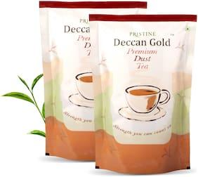 PRISTINE Deccan gold Premium Dust Tea, 500 g, Pack of 2