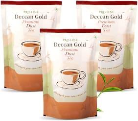 PRISTINE Deccan gold Premium Dust Tea, 500 g, Pack of 3