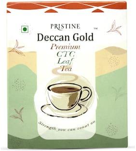 PRISTINE Deccan gold Premium CTC Leaf Tea, 500 g, Pack of 1
