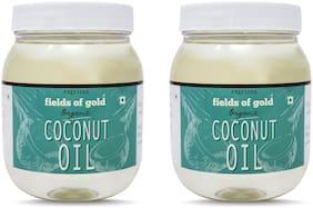 PRISTINE Fields of Gold Organic Coconut Oil, 500ml