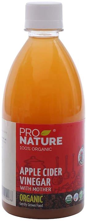 Pro Nature 100% Organic Apple Cider Vinegar 500ml (Pack of 1)