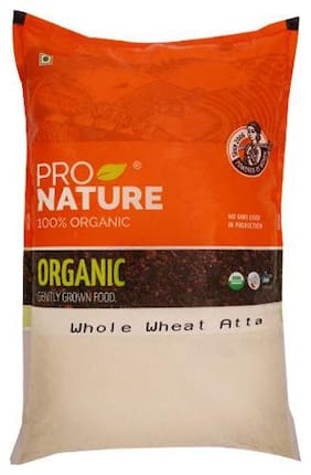 Pro Nature Organic Atta - Whole Wheat 5 kg