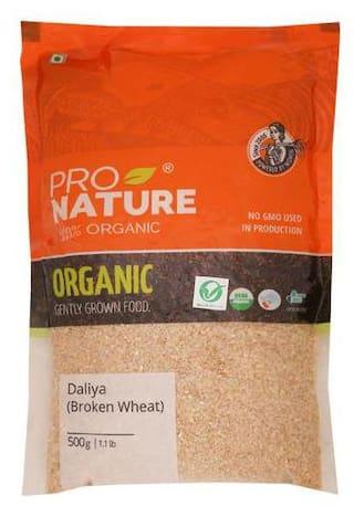 Pro Nature Organic Daliya - Broken Wheat 500 g