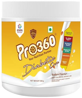 Pro360 Diabetic Nutritional Beverage Mix - Real Badam Flavour 250g