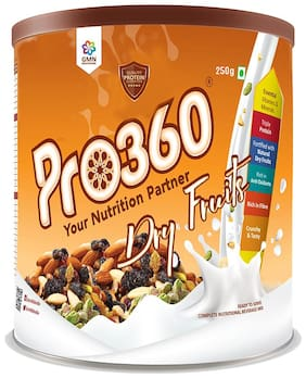 Pro360 Dry Fruits Nutritional Beverage Mix - 250g