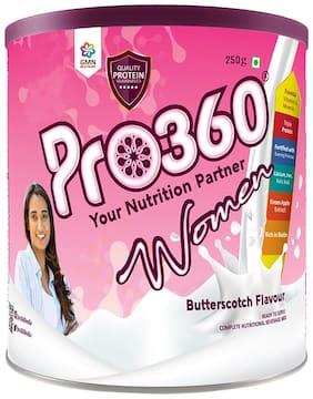 Pro360 Women Nutritional Beverage Mix - Butterscotch Flavour 250g