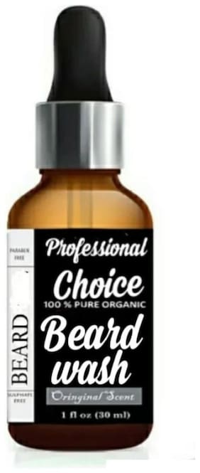 Professional Choice Moustache And Beard Wash 30ml