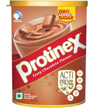 Protinex Tasty chocolate Nutritional health drink with High Protein & Zero added Sugar 400g Tin