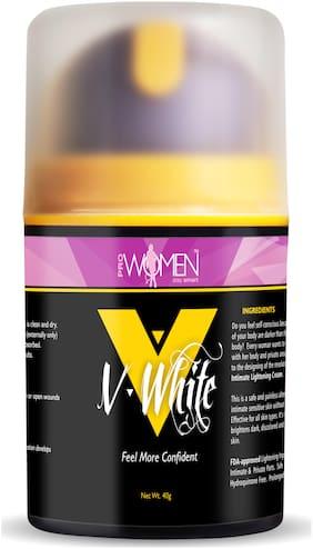 Prowomen V- White Intimate Lightening Cream-40g