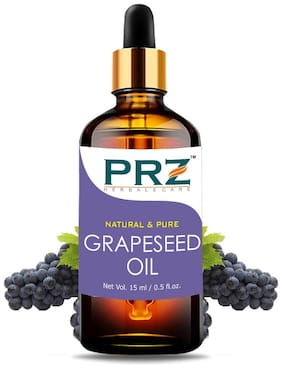 PRZ GrapeSeed Cold Pressed Carrier Oil (15ML)