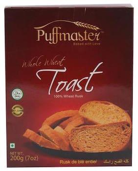 Puffmaster Whole Wheat Toast 200 g