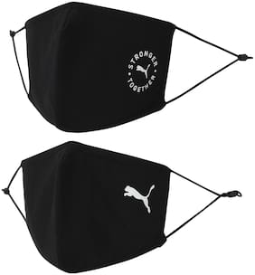 Pack of 2 Cotton ( Black )