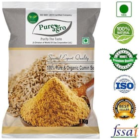 Pure Agro Pure and Natural Cumin Seeds (Jeera) - 1Kg