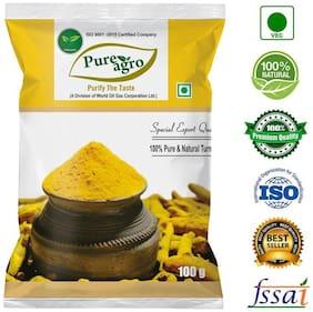 Pure Agro Pure and Natural Turmeric (Haldi) Powder- 1Kg