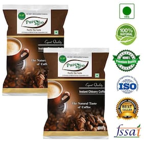 Pure Agro Pure and Natural Coffee - 100 Grams Pack of 2