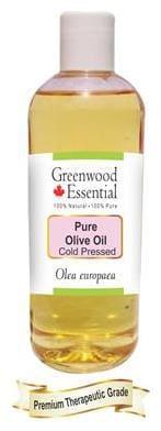 Greenwood Essential Pure Olive Oil (Olea europaea) 100% Natural Therapeutic Grade Cold Pressed 200ml