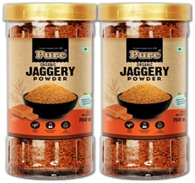 Pure Organic Jaggery Powder 750g (Pack of 2)
